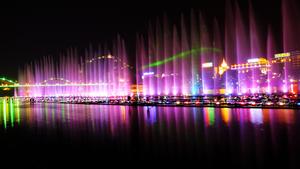 柳州市百里柳江夜景